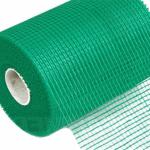Строительная сетка зеленого цвета