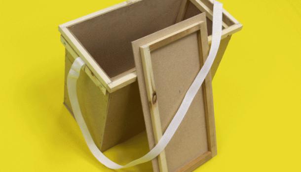 Ящик для пчеловода сделать своими руками