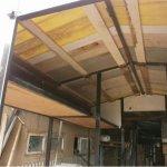 Готовая  крыша пчелоприцепа