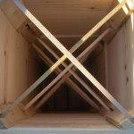 Внутренняя деревянная крестовина
