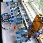 Создание поилок из пластиковых бутылок