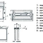 Квадратная роевня-ящик