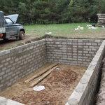 Строительство подземного омшаника