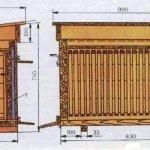 Чертеж корпуса на узко-высокую рамку