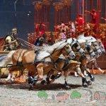 Соревнование колесниц в Древнем Риме