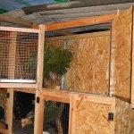 Упрощенный вариант дома для кроликов