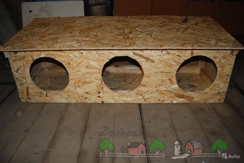 Самодельное гнездо-будка фото