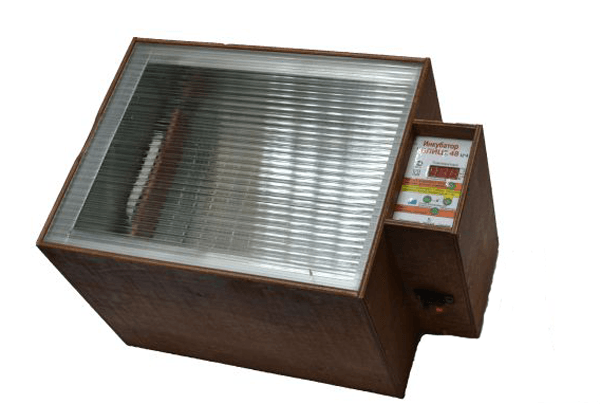 Инкубатор Блиц 48 - внешний вид фото