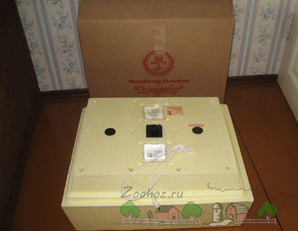 Бытовой инкубатор Золушка на 78 яиц фото