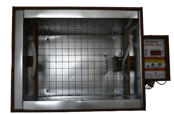 Верхняя часть инкубатора Блиц 48 фото