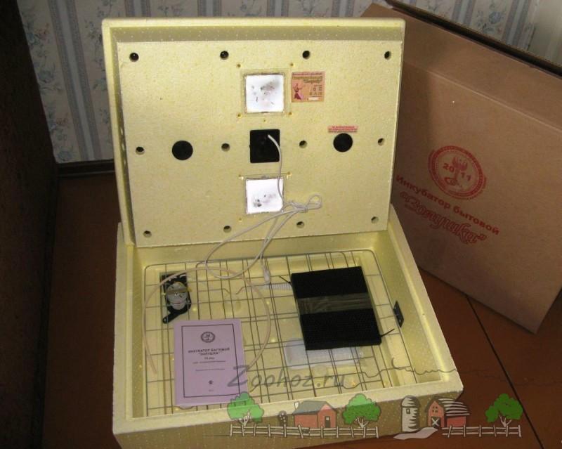 Инкубатор Золушка в открытом виде фото