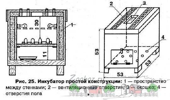 Инкубатор простой конструкции:
