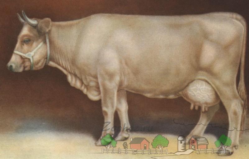Изображение молочницы Грозы на картине