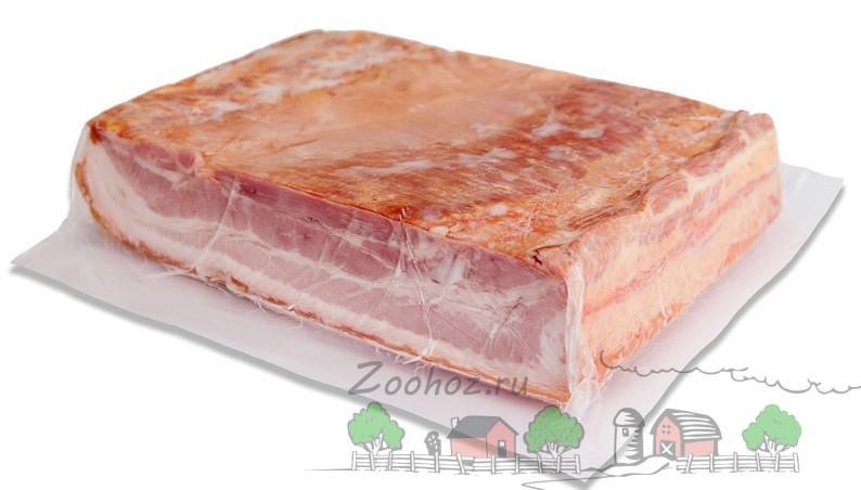 Свиной бекон в упаковке