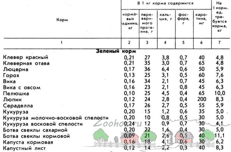 Таблица часть первая