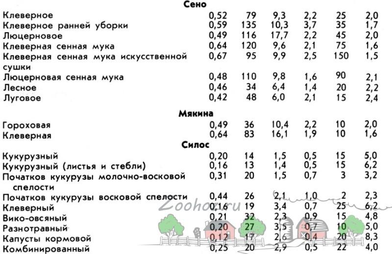 Таблица часть вторая