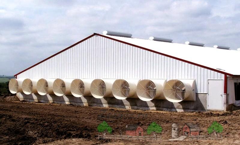 Современная вентиляция на ферме
