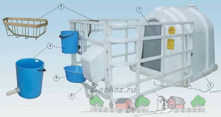 Занимаемся постройкой сарая для буренок и домиков для телят