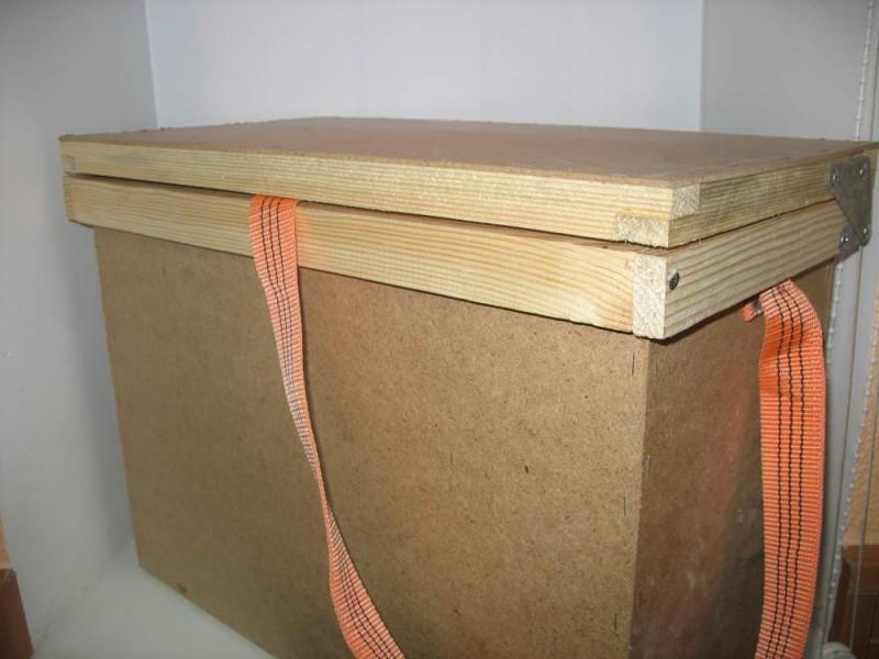 Ящик для переноски на десять рамок