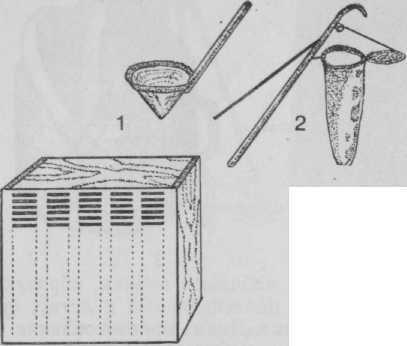 Приспособления для ловли пчел Бутлерова