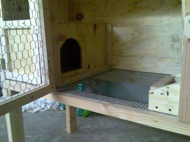 Клетка с маточником для беременной крольчихи