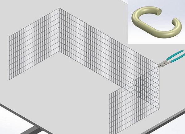 Как сделать клетки для кроликов из сетки своими руками: чертежи с размерами и фото