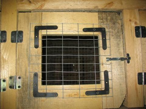 Дверца для готовой клетки на защелке