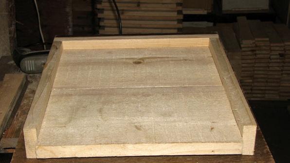 Готовое деревянное дно