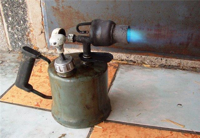 Паяльная лампа для обжига