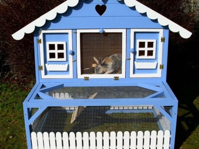 Оригинальный домик для кролика