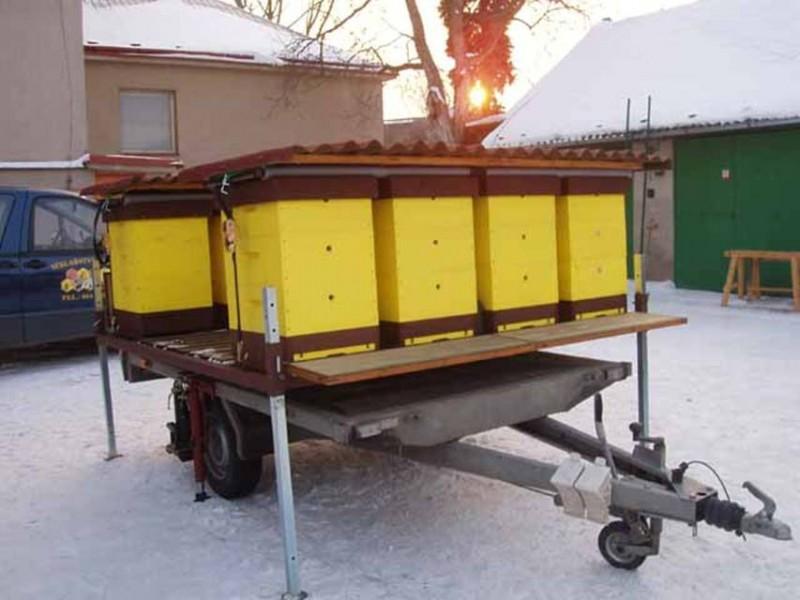 Пчелоприцепы: обзор, изготовление, фото