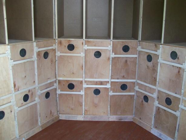 Сборка кассетного павильона