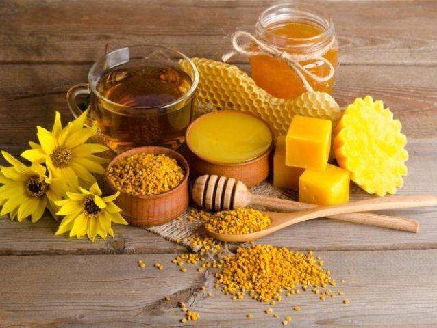 Пчелиные продукты: мед, прополис, воск