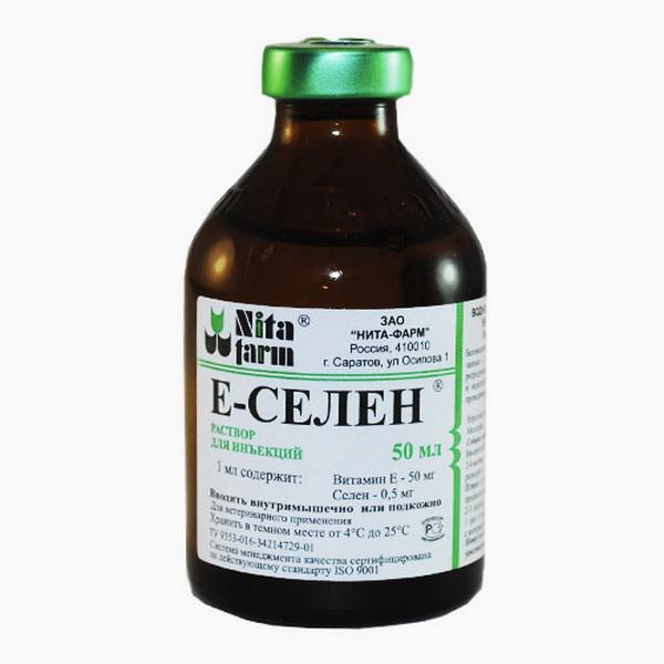 Препарат Е-селен