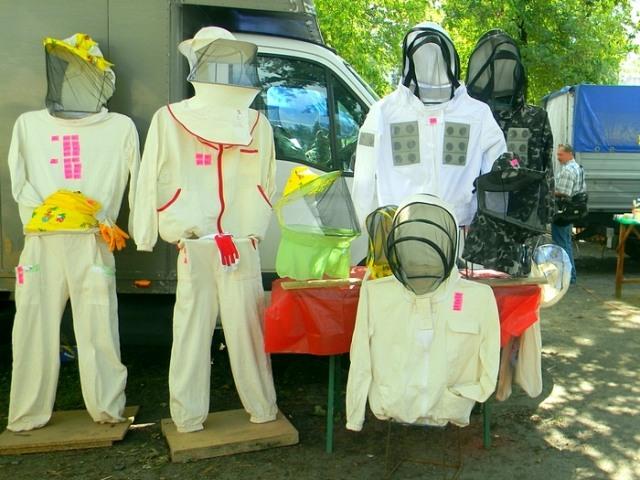 Примеры защитных курток для пасеки