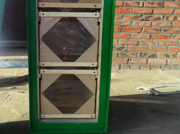 Передняя стенка кассетного улья