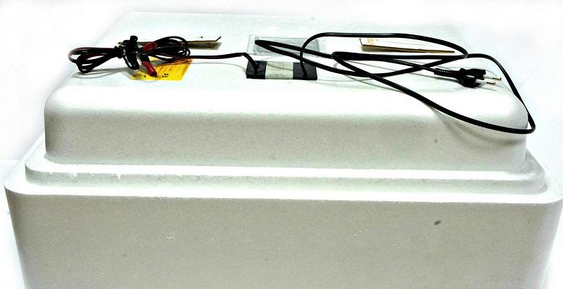 Бытовой инкубатор вид сбоку