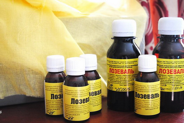 Лозеваль для пчел: инструкция по применению и видео